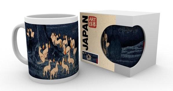 Cup Hiroshige - New Years Eve Foxfire