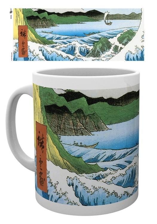 Cup Hiroshige - The Sea At Satta