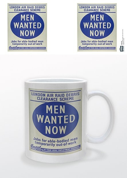 IWM - Men Wanted Now Mug