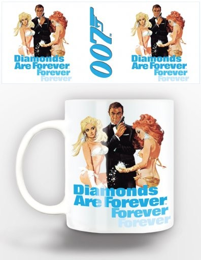 James Bond - diamonds are forever Mug