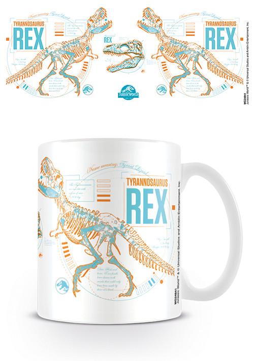 Jurassic World Fallen Kingdom - T Rex Stats Mug
