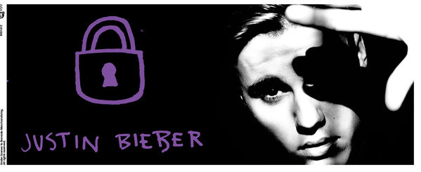 Justin Bieber - Lock Mug