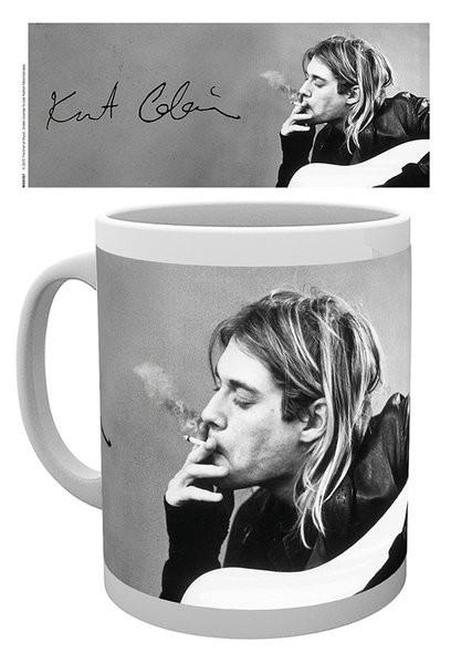 Kurt Cobain - Smoking Mug