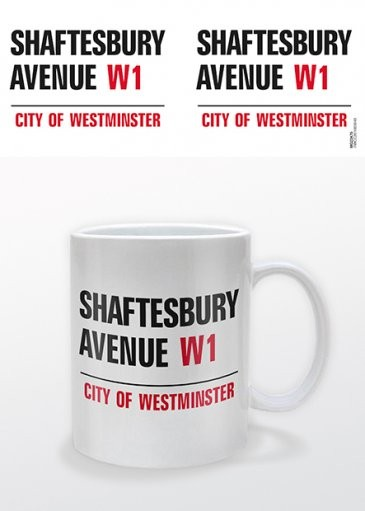 London - Shaftesbury Avenue Mug