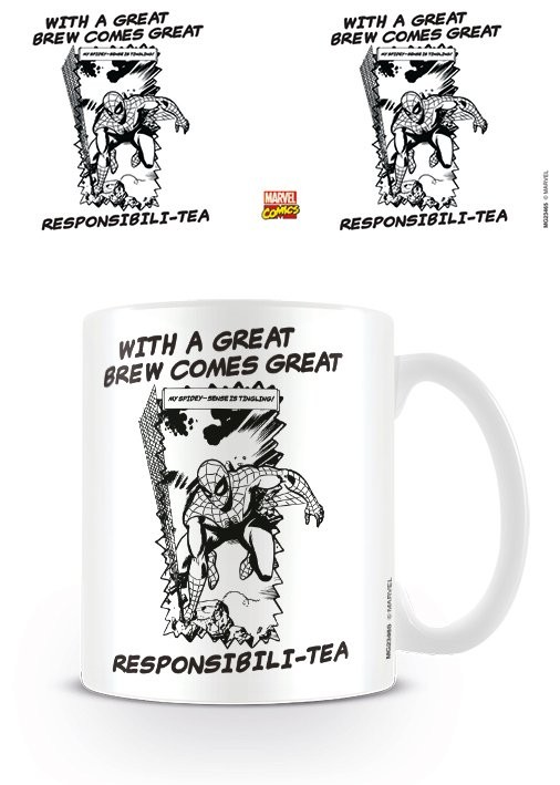 Marvel Retro - Great Responsibili-tea Mug