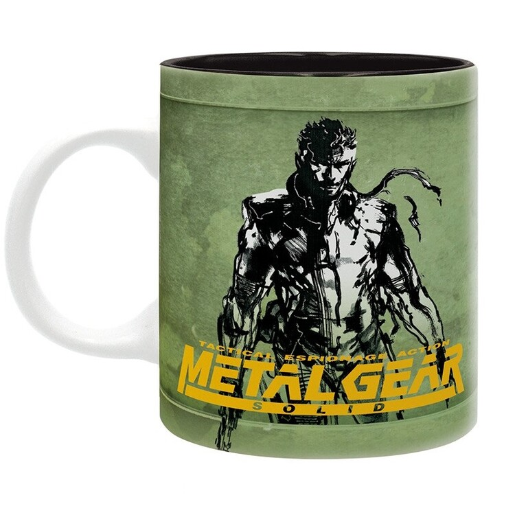 Cup Metal Gear Solid - Fox Hound