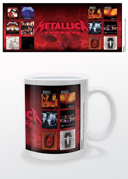 Metallica - Albums Mug