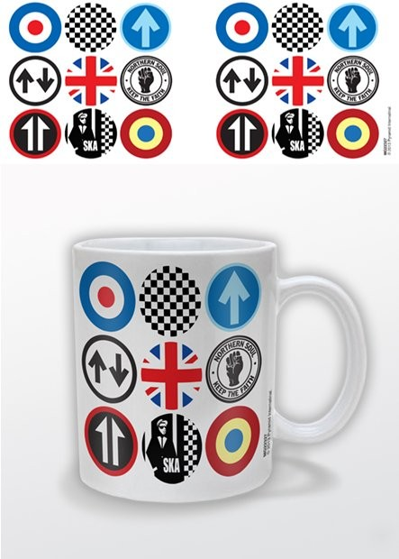 Mod and Ska Icons Mug