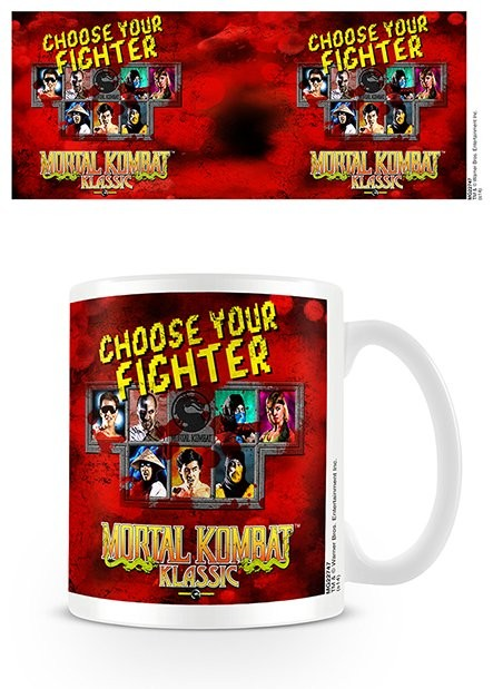 Mortal Kombat - Choose Your Fighter Mug