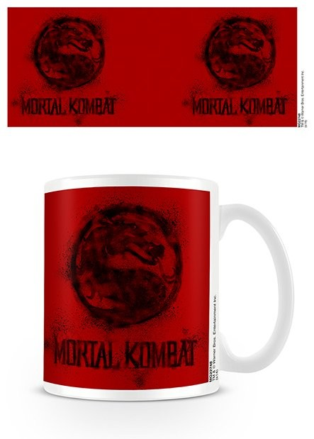 Mortal Kombat - Distressed Mug