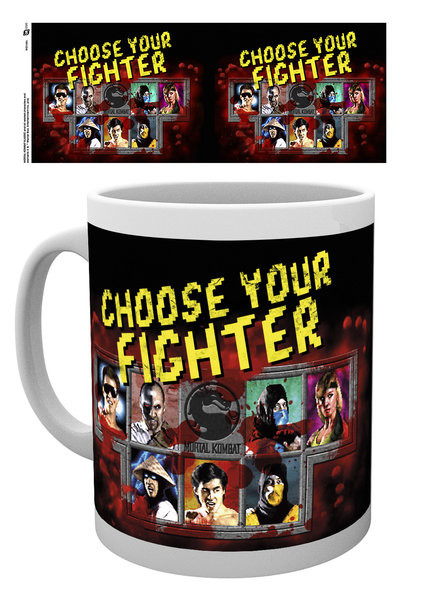 Mortal Kombat - Fighter Mug