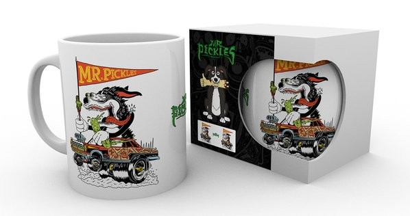 Mr. Pickles - Hot Rod Mug