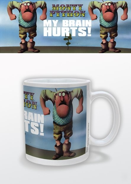 My brain hurts Mug
