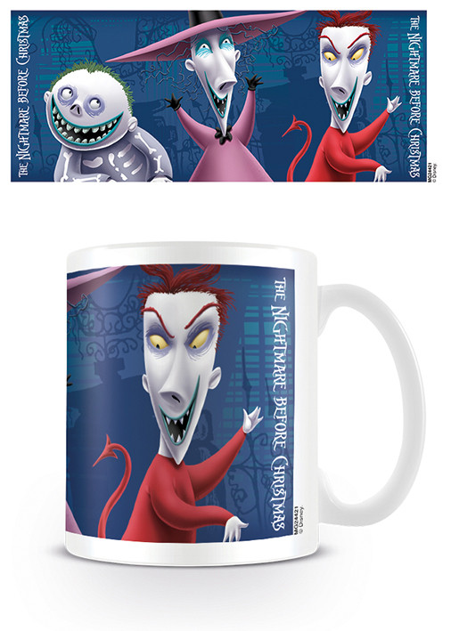 Nightmare Before Christmas - Lock Shock Barrel Mug