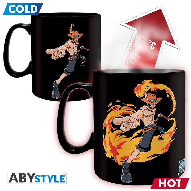Cup One Piece - Luffy&Ace