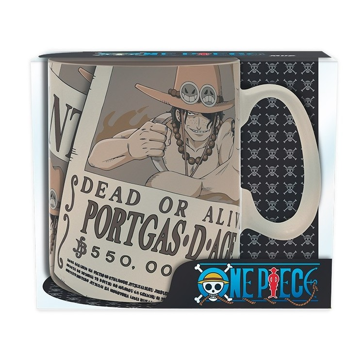 Cup One Piece - Wanted Ace