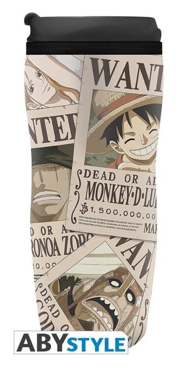 Travel mug One Piece - Wanted