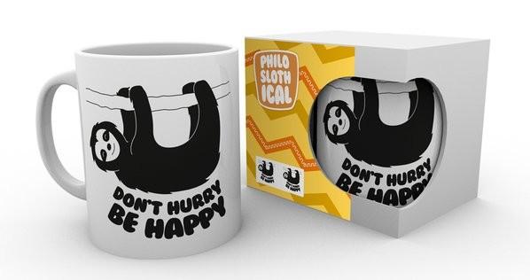 Philoslothical - Be Happy Mug