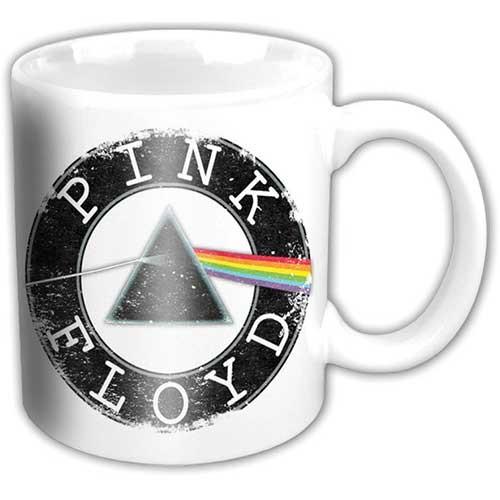 Pink Floyd - Vintage Circle White Mug