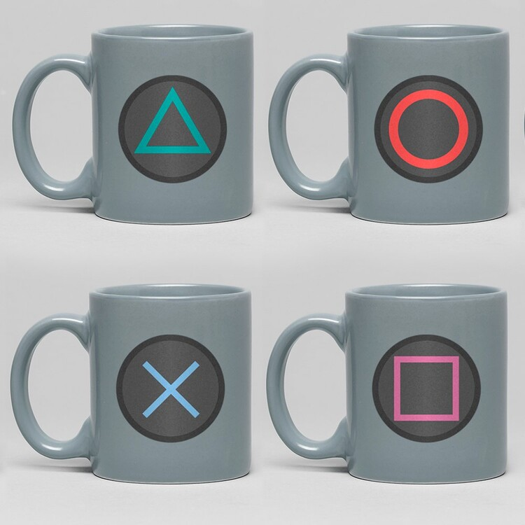 Cup Playstation - Buttons