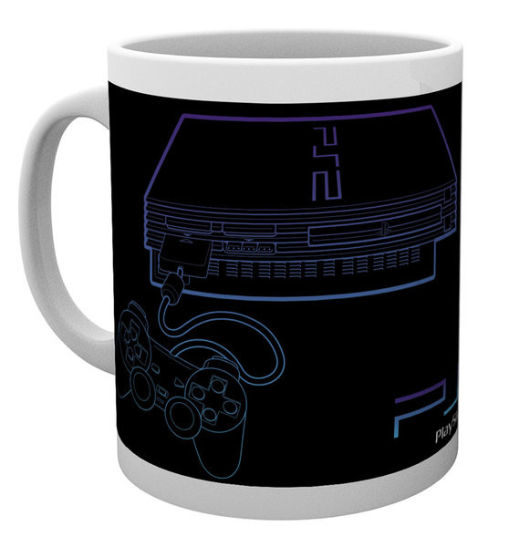 Playstation - PS2 Lineart Mug