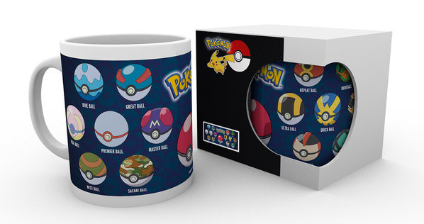 Pokémon - Ball Varieties Mug
