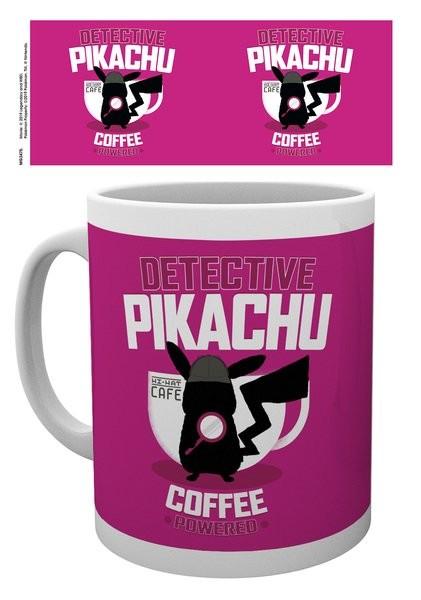 Pokemon Detective Pikachu Coffee Powered Mug Cup Buy At Europosters