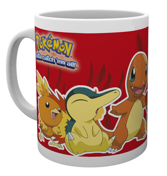 Pokémon - Fire Partners Mug