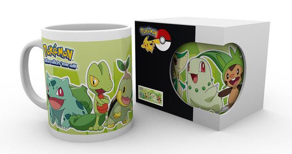 Pokémon - Grass Partners Mug