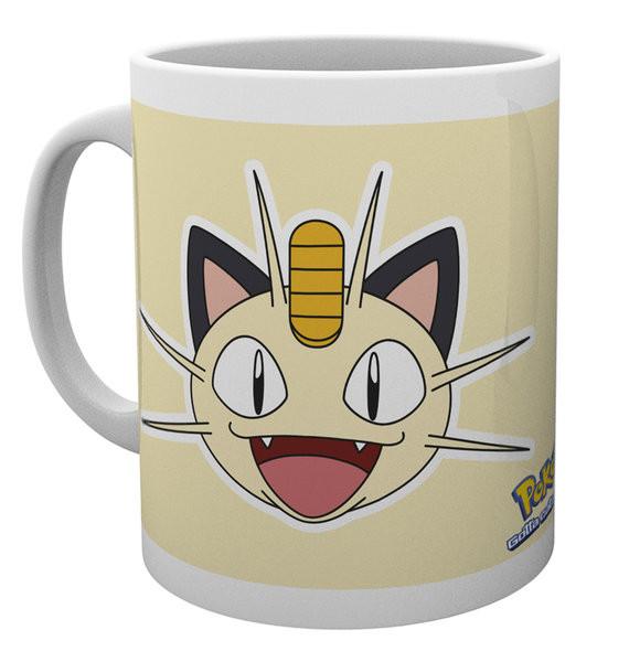 Pokémon - Meowth Face Mug