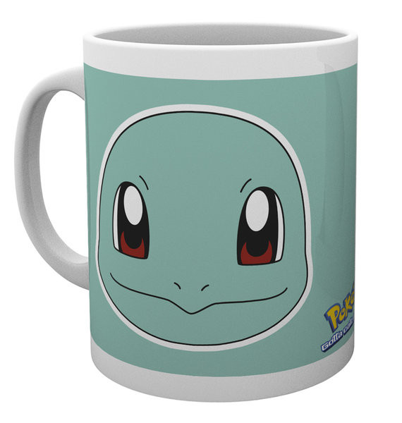 Pokémon - Squirtle Face Mug