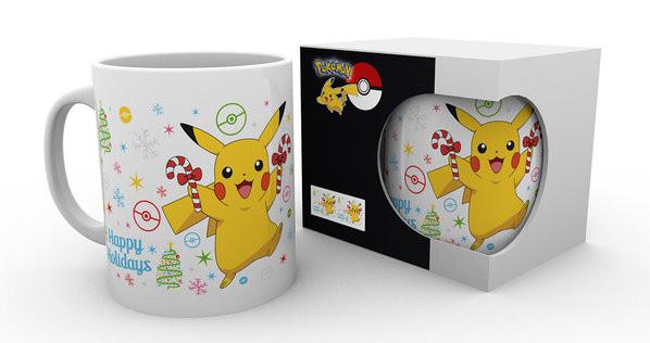 Pokemon - Xmas Pikachu Mug