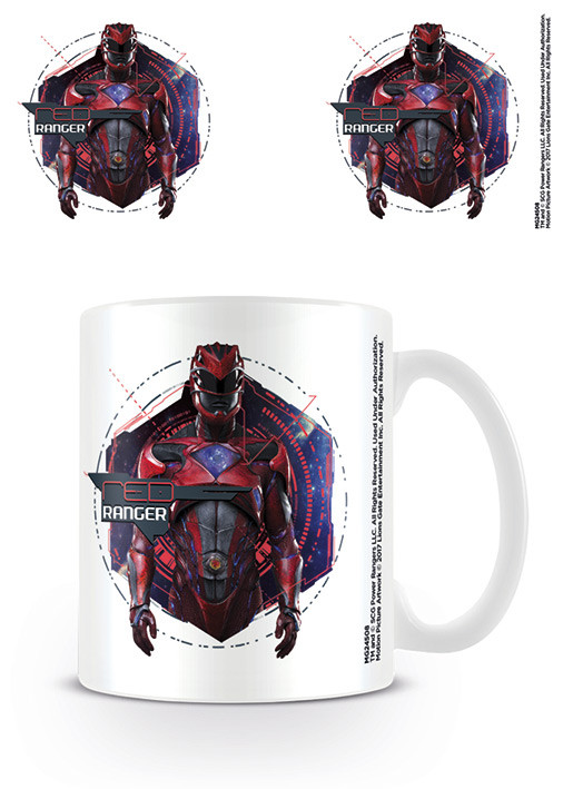 Power Rangers - Red Ranger Mug