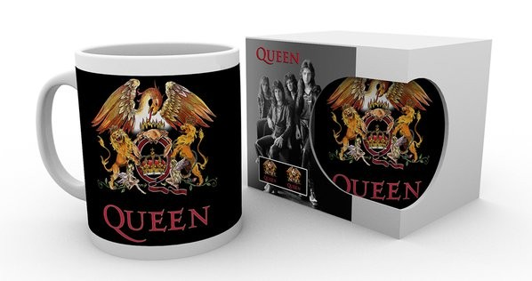 Queen - Colour Crest Mug