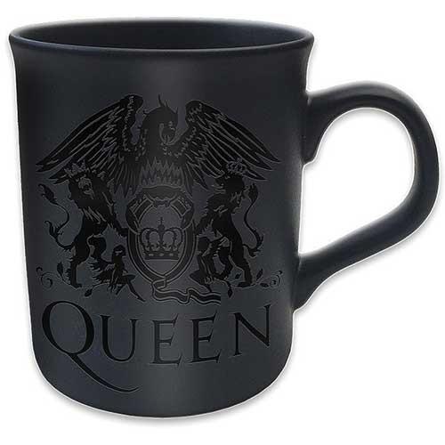 Queen - Crest Matt Mug