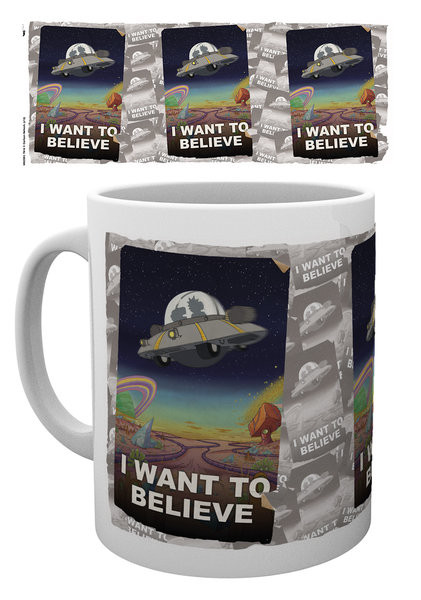 Rick And Morty - I Want To Believe Mug