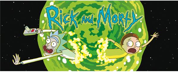 Rick And Morty - Logo Mug