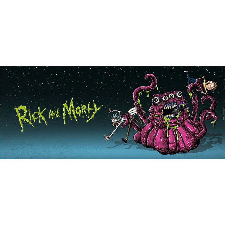 Cup Rick And Morty - Monsters