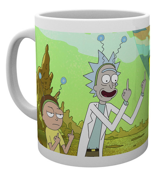 Rick And Morty - Peace Mug