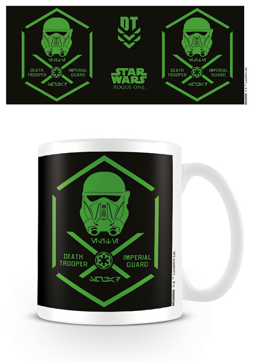 Rogue One: Star Wars Story - Death Trooper Symbol Mug