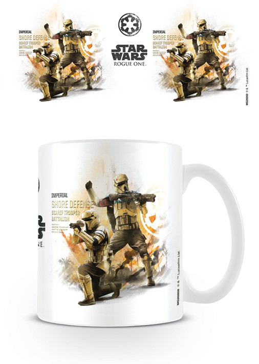 Rogue One: Star Wars Story - Shore Trooper Profile Mug