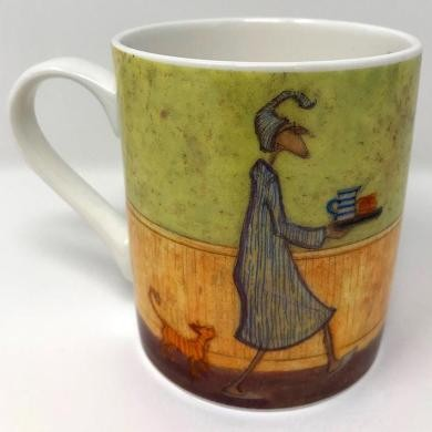 Sam Toft - Breakfast in Bed For Doris Mug