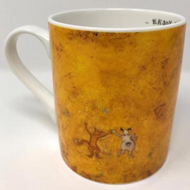 Sam Toft - Carrying on Regardless Mug
