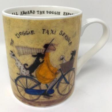 Sam Toft - The Doggie Taxi Service Mug