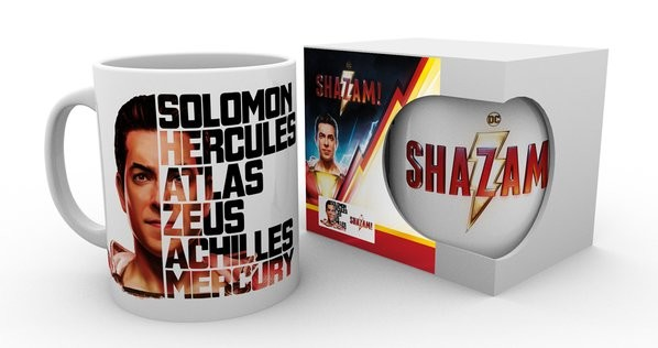 Cup Shazam - Face