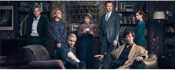 Sherlock - Cast Mug