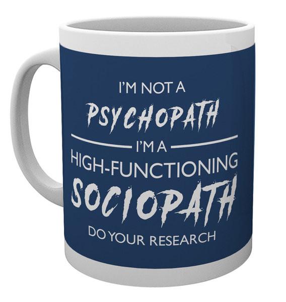 Sherlock - I'm Not a Psychopath Mug