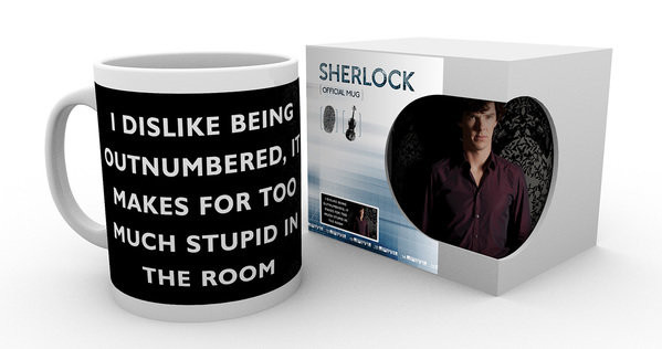 Sherlock - Insult Mug