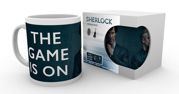 Sherlock - The Game Is On Mug