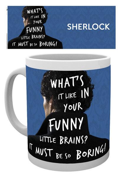 Sherlock - What's It Like Mug